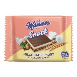 Manner vanília-tej ízű krémmel töltött ostya 25G