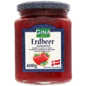 Gina Lekvár 400G Erdbeer 84430