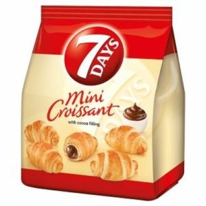 7 Days Mini kakaó ízű töltelékkel töltött croissant 60G