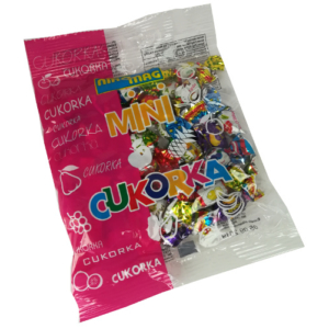 Mini Cukor 70G Vegyes-Gyümölcs Nikomag
