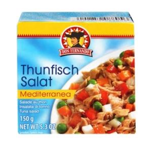 Don F. 150G Thunfisch Salat Mediterranea /90343/
