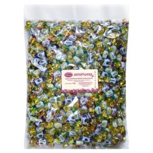 Bergland MiniFrutta gyümölcs ízű cukorka 1Kg