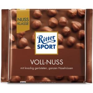 Ritter Sport 100G Voll-Nuss Nuss Klasse 464124