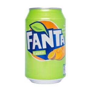 Fanta 0.33L Exotic