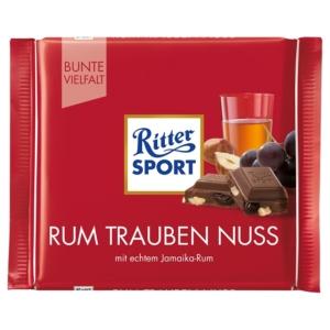 Ritter Sport 100G Rum Trauben Nuss 464101