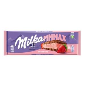 Milka Eperrel ízesített joghurtos krémtöltelékkel töltött alpesi tejcsokoládé 300G