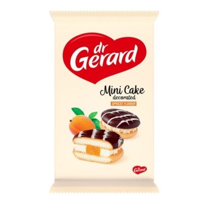 Dr. Gerard 165G Mini Cake Sponge Biscuit Sárgabarack Töltelék, Tejszín Krém