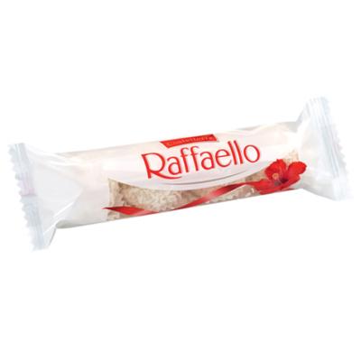 Raffaello ropogós, kókuszos ostyakülönlegesség, belsejében egész szem mandulával 40g