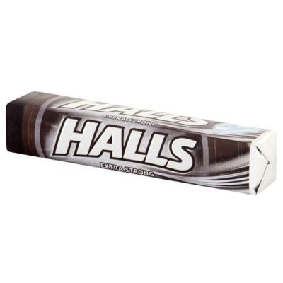 Halls Extra erős mentol-eukaliptusz ízű töltetlen keménycukorka 33.5G