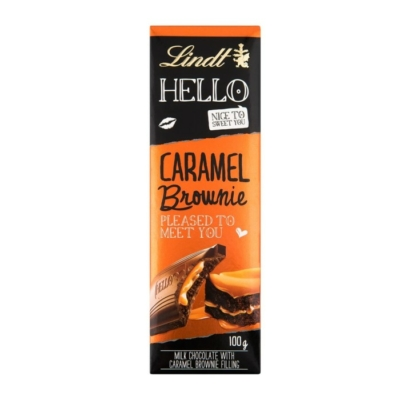 Lindt Hello 100G Caramel Brownie LNTL3102