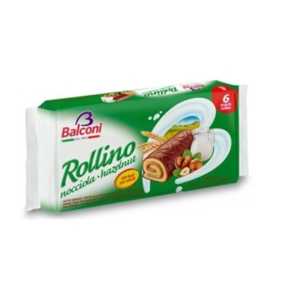 Balconi Rollino Mogyorós 222g (6*37g)