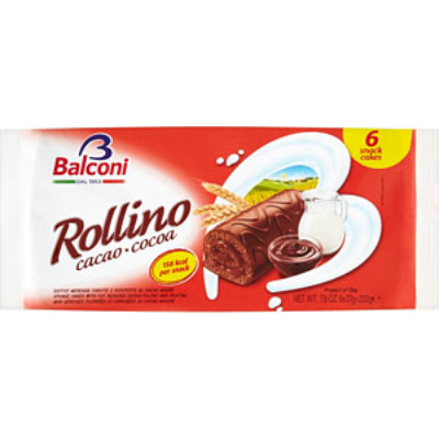 Balconi Rollino Cacao 222g (6*37g) Csokis