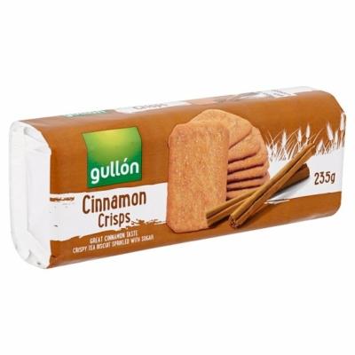Gullon 235G Cinnamon Crisps Fahéjas