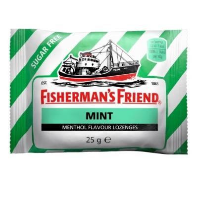Fisherman's Friend Borsmenta ízű töltetlen keménycukorka 25G Cukormentes