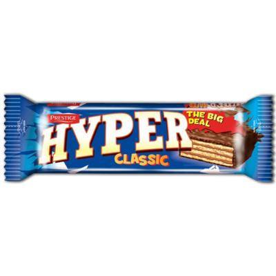 Hyper Classic Kakaós bevonatba mártott kakaó krémmel töltött ostya 55G