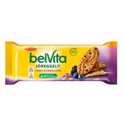 Győri Belvita Jóreggelt erdei gyümölcsös keksz 50 g