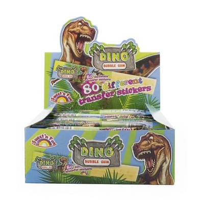 Sweet'N Fun Dino Bubble Gum 6G