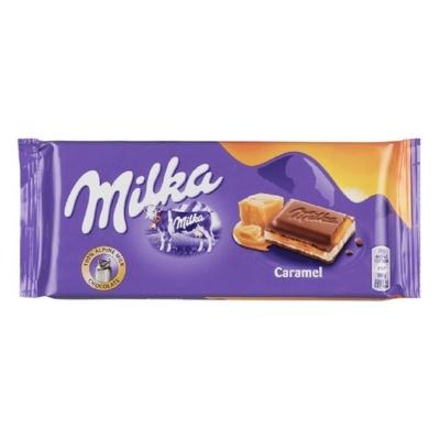 Milka Toffie karamell ízű alpesi tejcsokoládé 100G