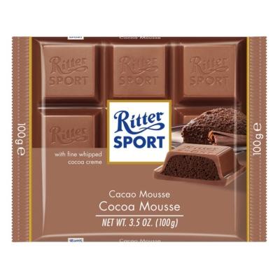 Ritter Sport 100G Mousse Au Chocolat 464166