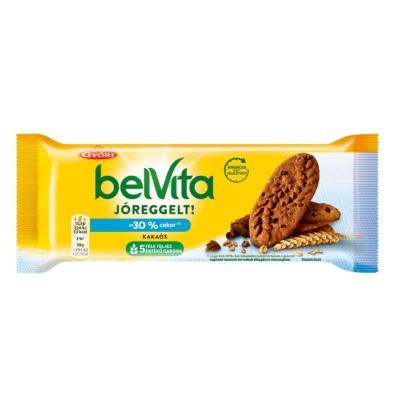 Győri Belvita Jóreggelt kakaós keksz 50 g, -30% cukor