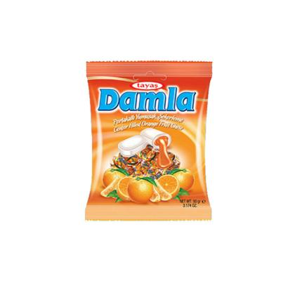 Damla 90G Narancsos Töltött Cukor