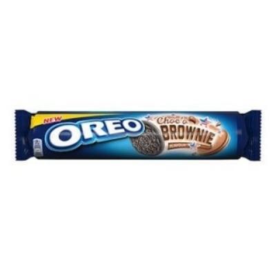 Oreo kakaós töltelékkel töltött kakaós keksz 154 g