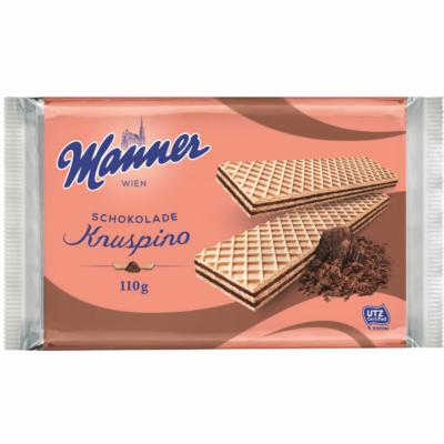 Manner 110G Knuspino Csokoládé Ostya