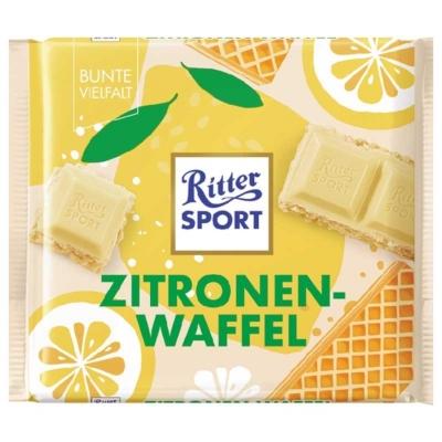 Ritter Sport 100G Lemon Wafer 464215