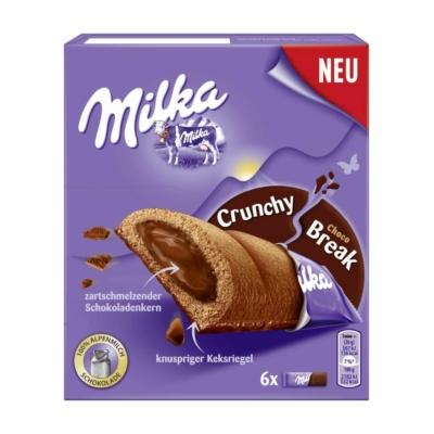 Milka Keksz 156G Crunchy Csokoládés