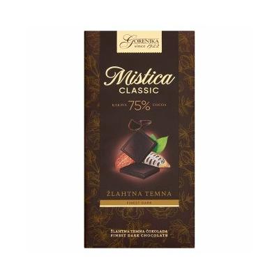 Mistica 100G 75% Étcsokoládé
