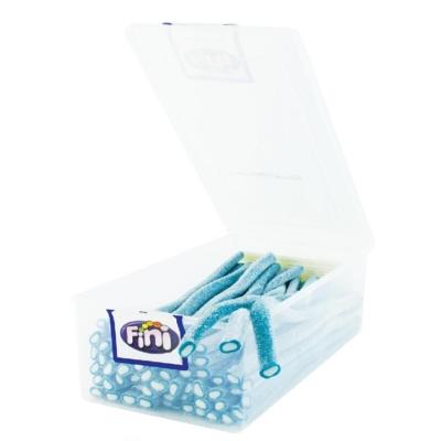 Fini Maxi Fizzy áfonya ízű savanyú gumicukor rudak 1.5KG