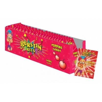 Burstin Bits Popping Candy 9,5G Cherry
