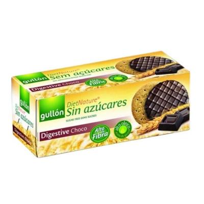 Gullón Digestive Choco étcsokokoládéval bevont korpás keksz 270g, cukormentes