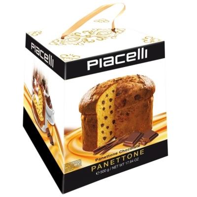 Piacelli Panettone Chocolate 500G /92124/