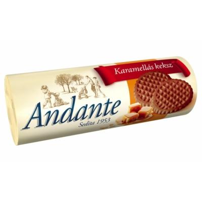 Andante Karamellás Keksz 134 g