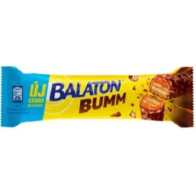 Balaton Bumm kakaós tejmasszával mártott töltött ostyaszelet karamellel és búzapehellyel 42 g