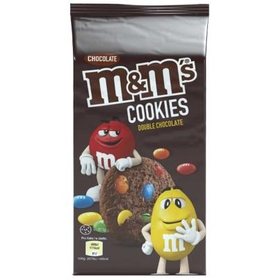 M&M Double Chocolate Cookies Keksz 180G