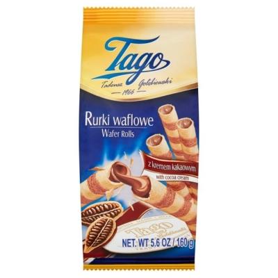 Tago 160G Töltött Ostyatekercs Kakaókrémmel
