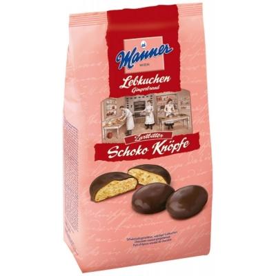 Manner Knöpfe 180G Csokoládés Puszedli