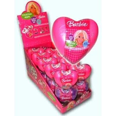 Barbie Collection Hearts 12G Nagy Műanyag Szív