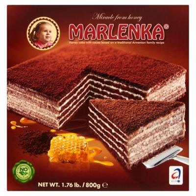 Marlenka 800G Torta Kakaós