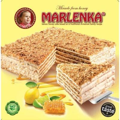 Marlenka 800G Torta Citromos