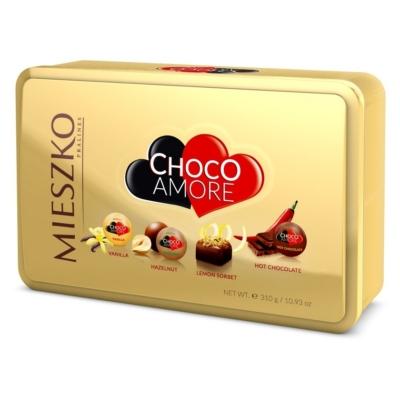 Mieszko Choco Amore 310G Fémdoboz