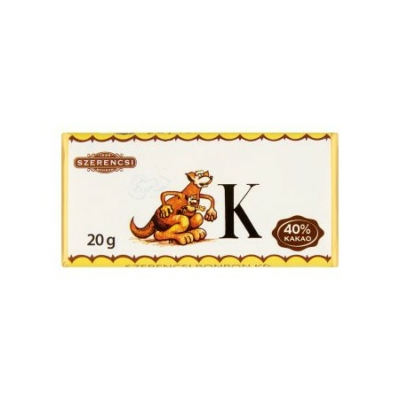 Szerencsi Tejcsokoládé Állat Abc 20G