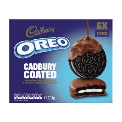Oreo Keksz 204G Cadbury Choco 6*34G