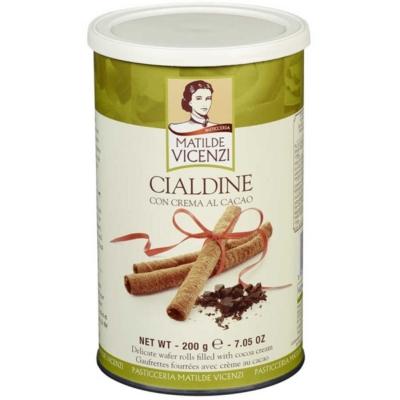 Vicenzi 200G Cialdine Cacao Fémdoboz VICE1021