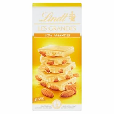 Lindt Les Grandes 150G Blanc 32% Mandeln LNTL4006