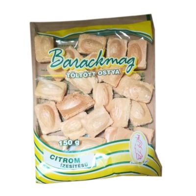 Bonvivan Barackmag citrom ízű töltött ostya 150G