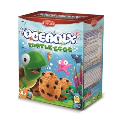 Oceanix 140G Teknőstojás Csokoládédarabos Keksz