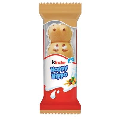 Kinder Happy Hippo Ropogós ostya tejes és mogyorós krémmel töltve 20,7G